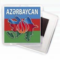 Магнит на холодильник Азербайджан