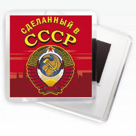 Магнит с гербом СССР