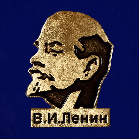 """Магнит """"В. И. Ленин"""" металлический"""