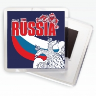 Магнитик RUSSIA «Двуглавый орёл»