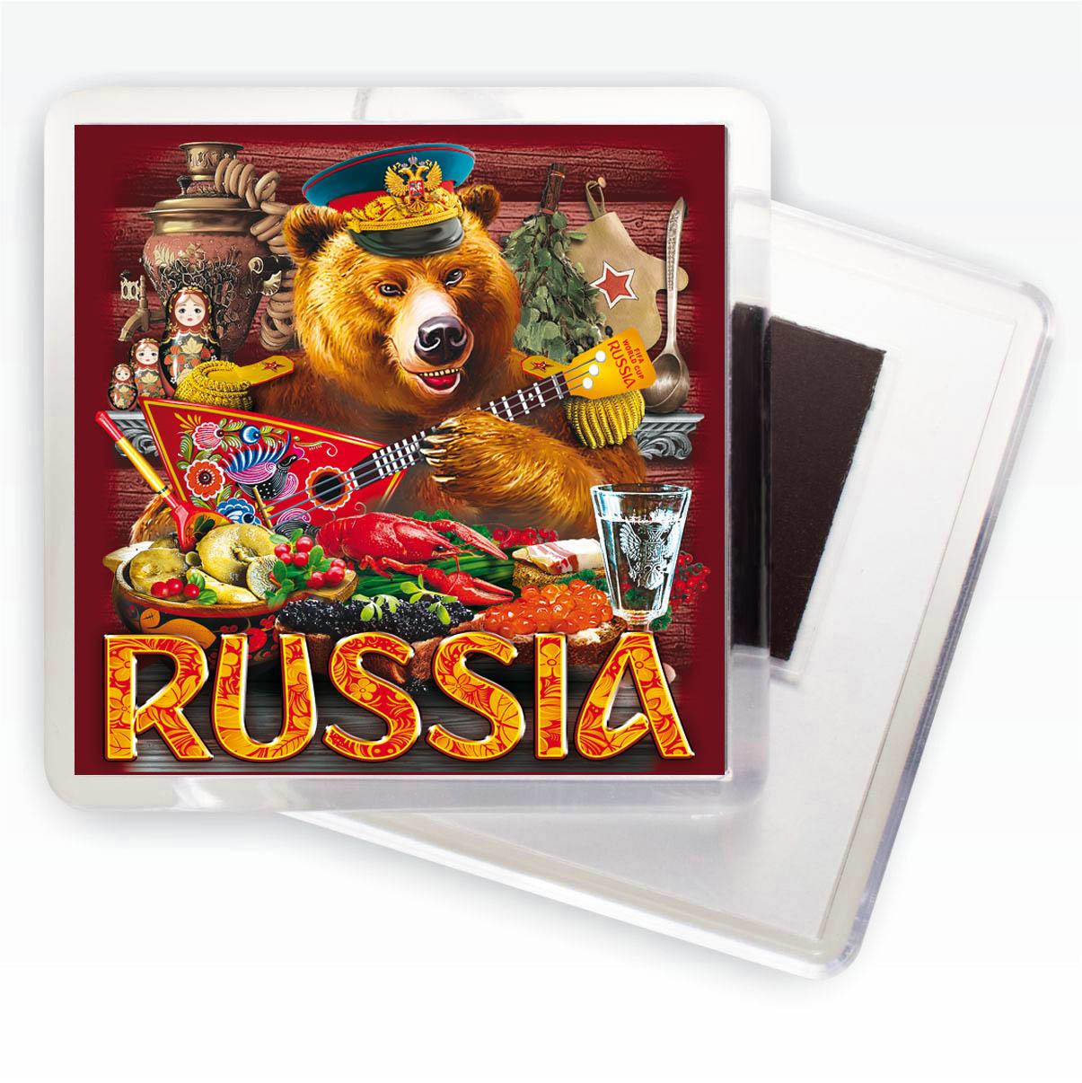 Магнитик Русский медведь