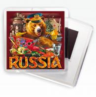 """Магнитик """"Русский медведь"""""""