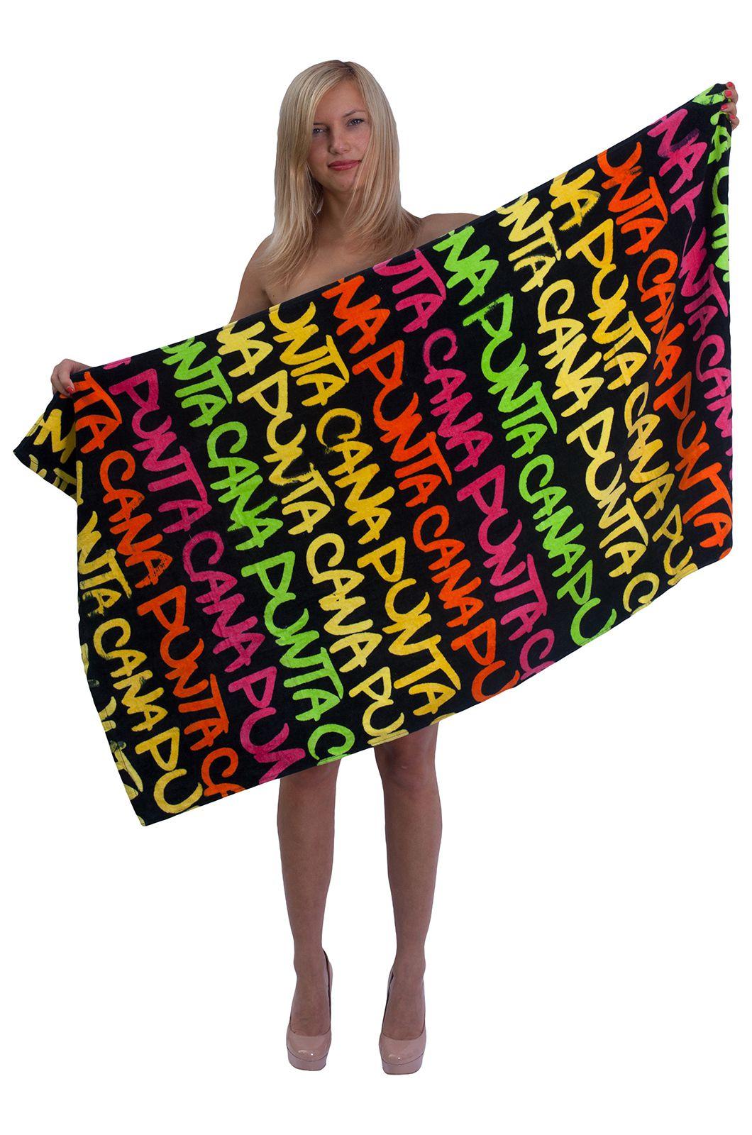 Махровое полотенце унисекс