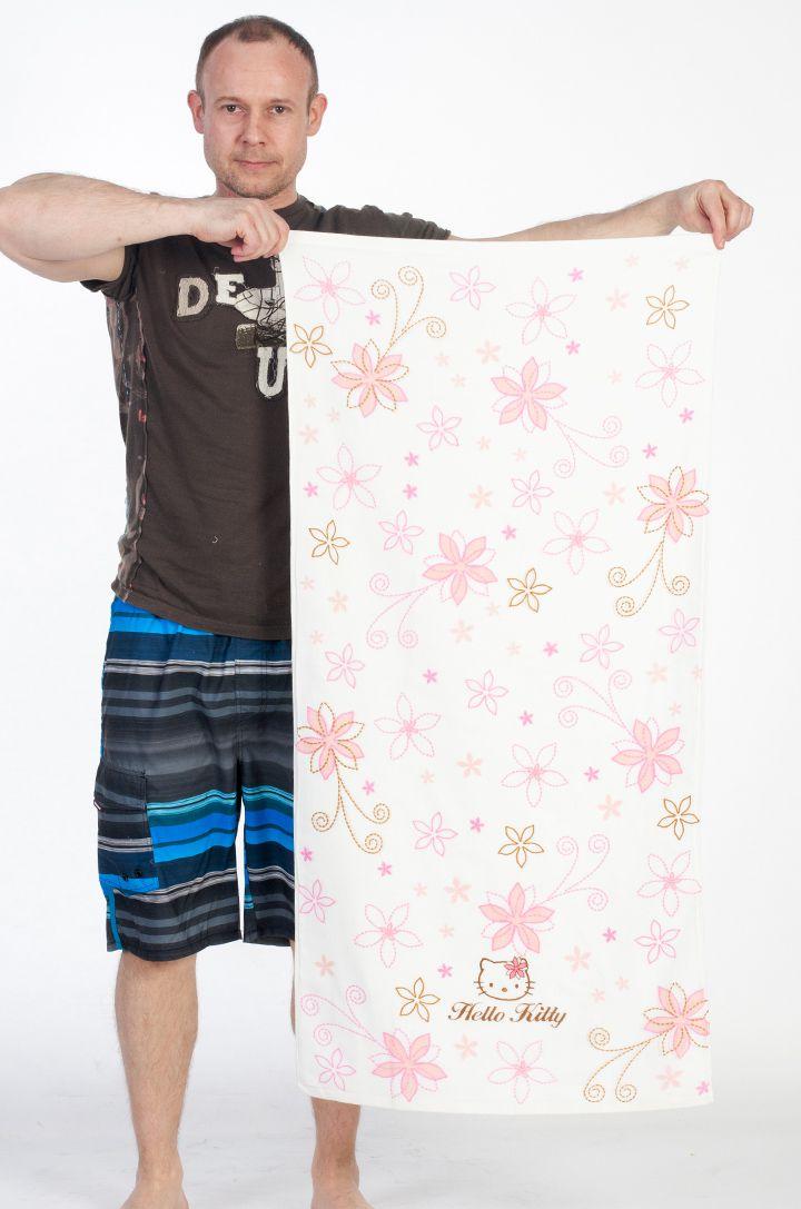 Махровое полотенце Хелло Китти - купить недорого с доставкой