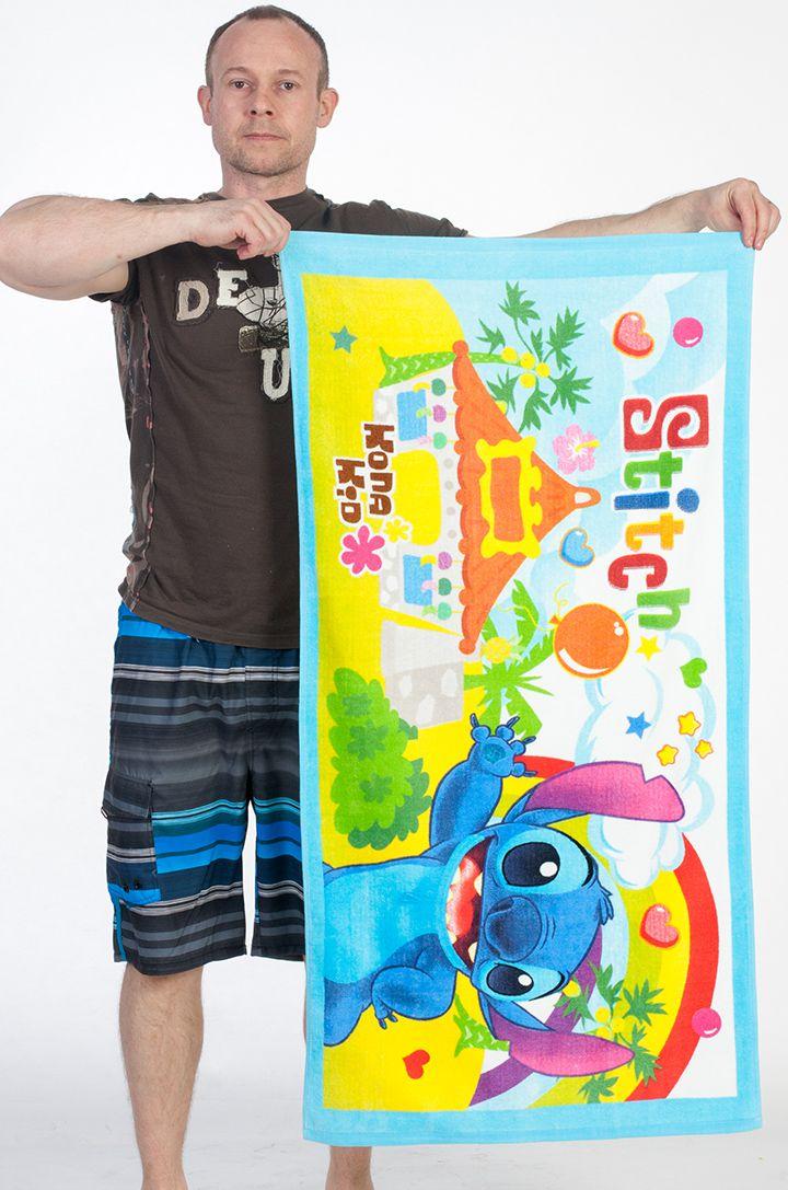 Махровое полотенце Stitch - купить по лучшей цене
