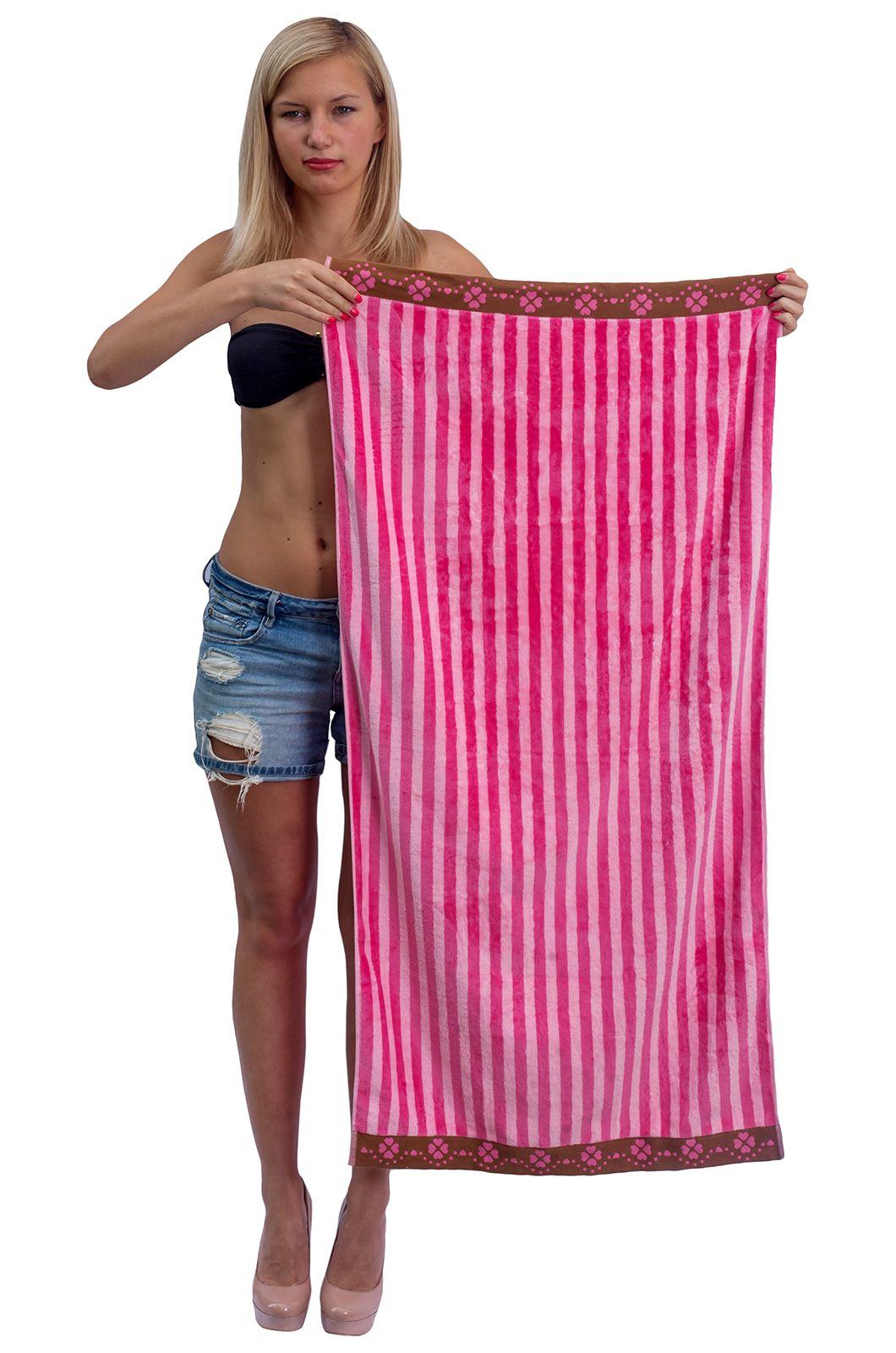 Махровое полотенце в полоску - купить с доставкой по России