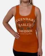 Женская майка-борцовка Harley-Davidson