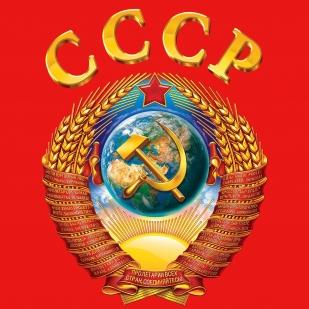 Майка СССР - принт