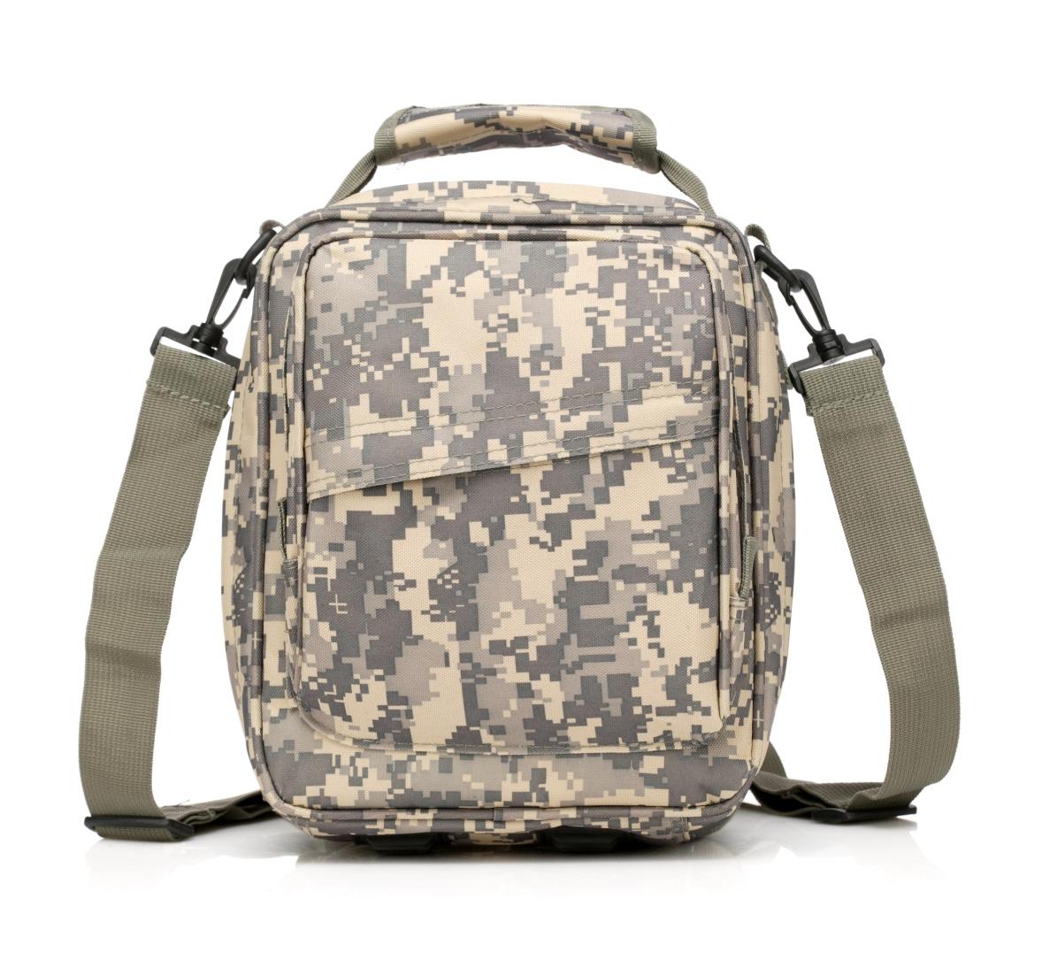 Маленькая мужская сумка на плечо со стропами MOLLE купить недорого