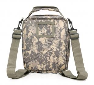 Маленькая мужская сумка на плечо со стропами MOLLE с доставкой