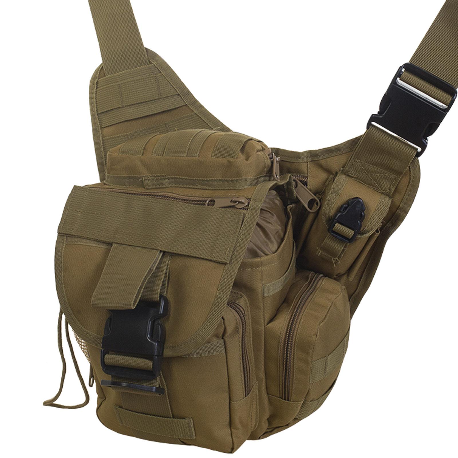 Небольшая сумка через плечо мужская