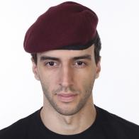 Малиновый берет парашютистов НАТО (пр-во Англия)