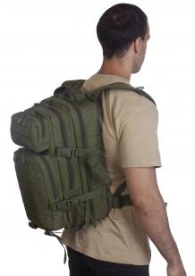 Малообъемный штурмовой рюкзак хаки-олива по лучшей цене