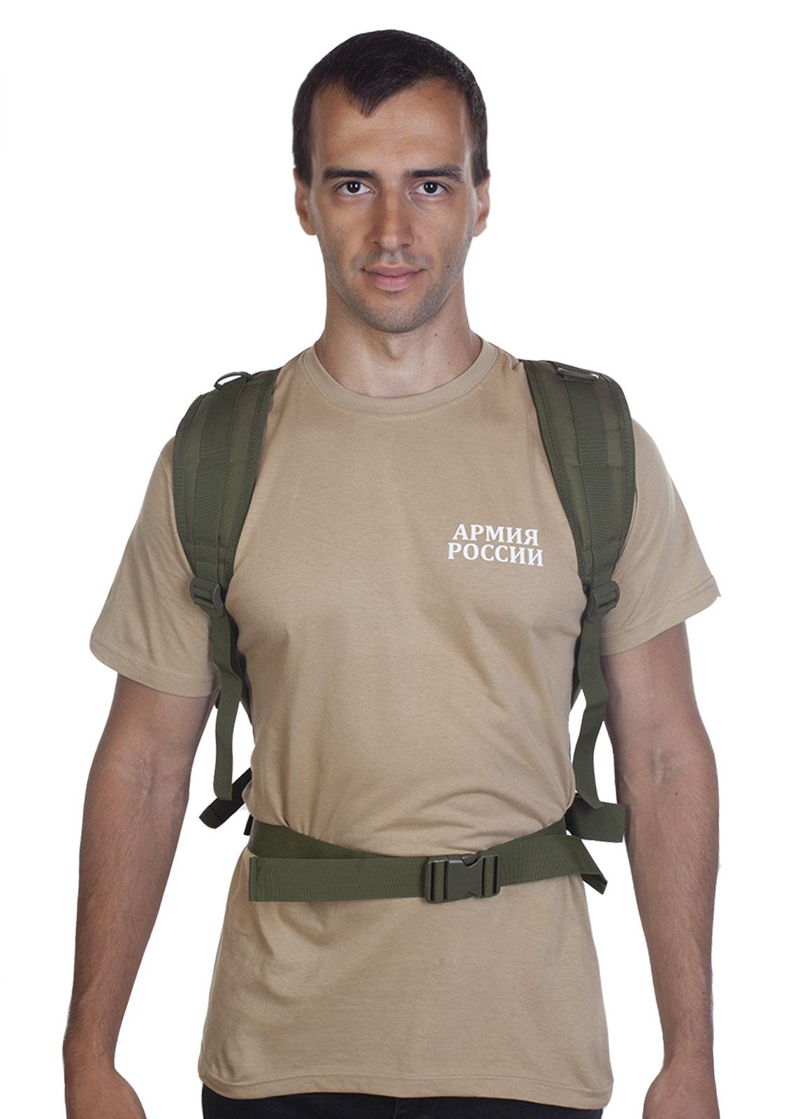Малообъемный штурмовой рюкзак хаки-олива с доставкой