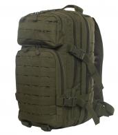 Малообъемный штурмовой рюкзак хаки-олива