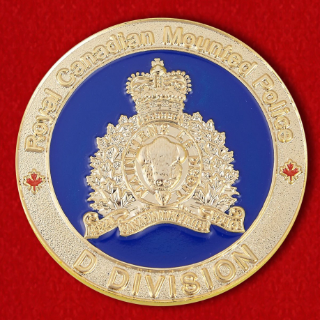 Manitoba Police Challenge Coin