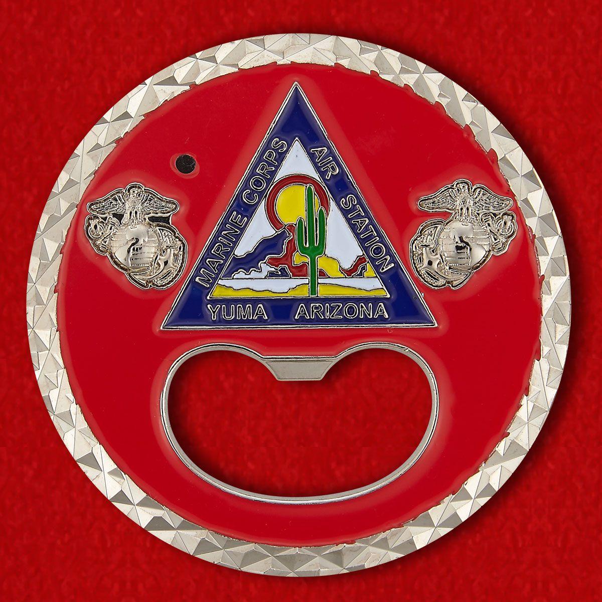 Marine Corps Air Station Yuma Challenge Coin