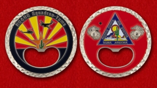 Marine Corps Air Station Yuma Challenge Coin - obverse and reverse