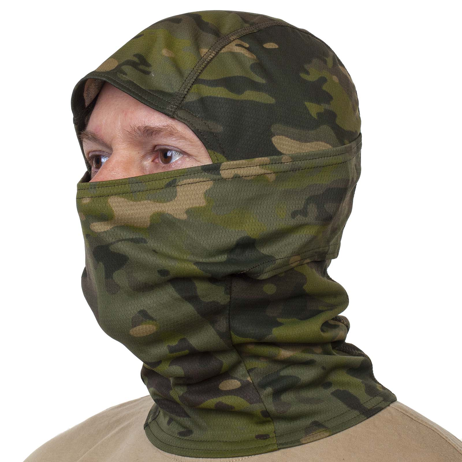 Купить маску подшлемник в камуфляжном дизайне