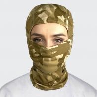 Камуфляжная маска балаклава с рисунком Woodland Desert