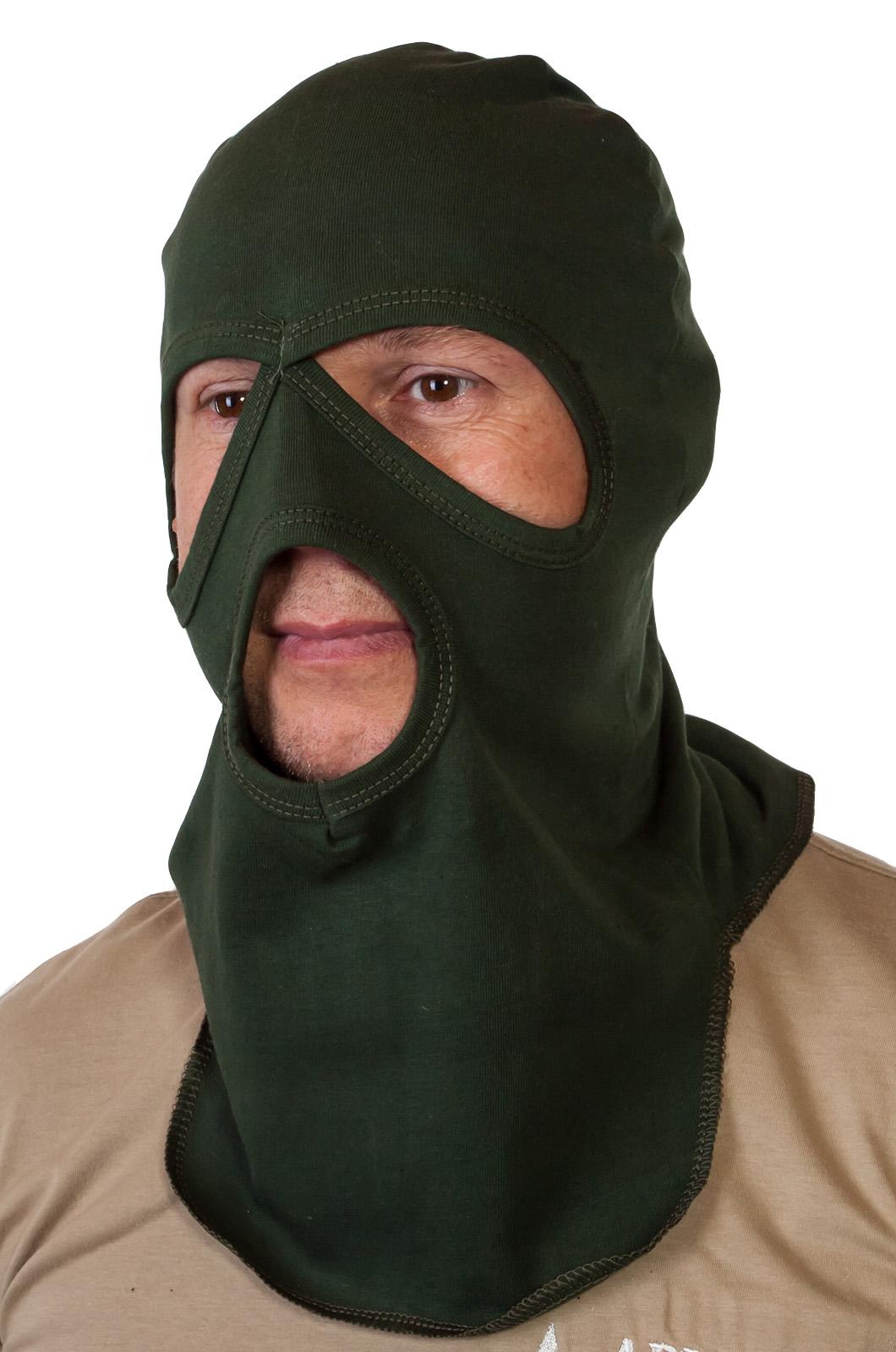 Купить в Москве маску балаклаву на лицо