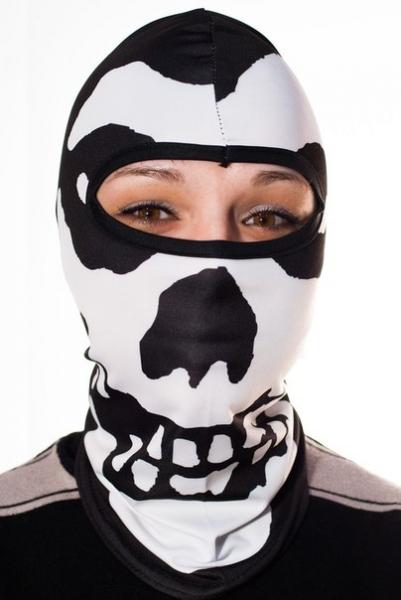 Байкерская маска Балаклава (с черепом)