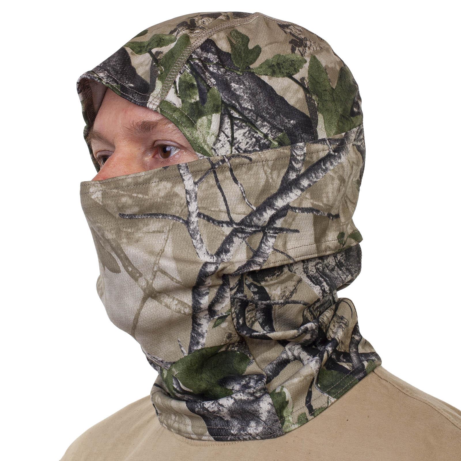 Купить в военторге маску балаклаву в камуфляже Realtree