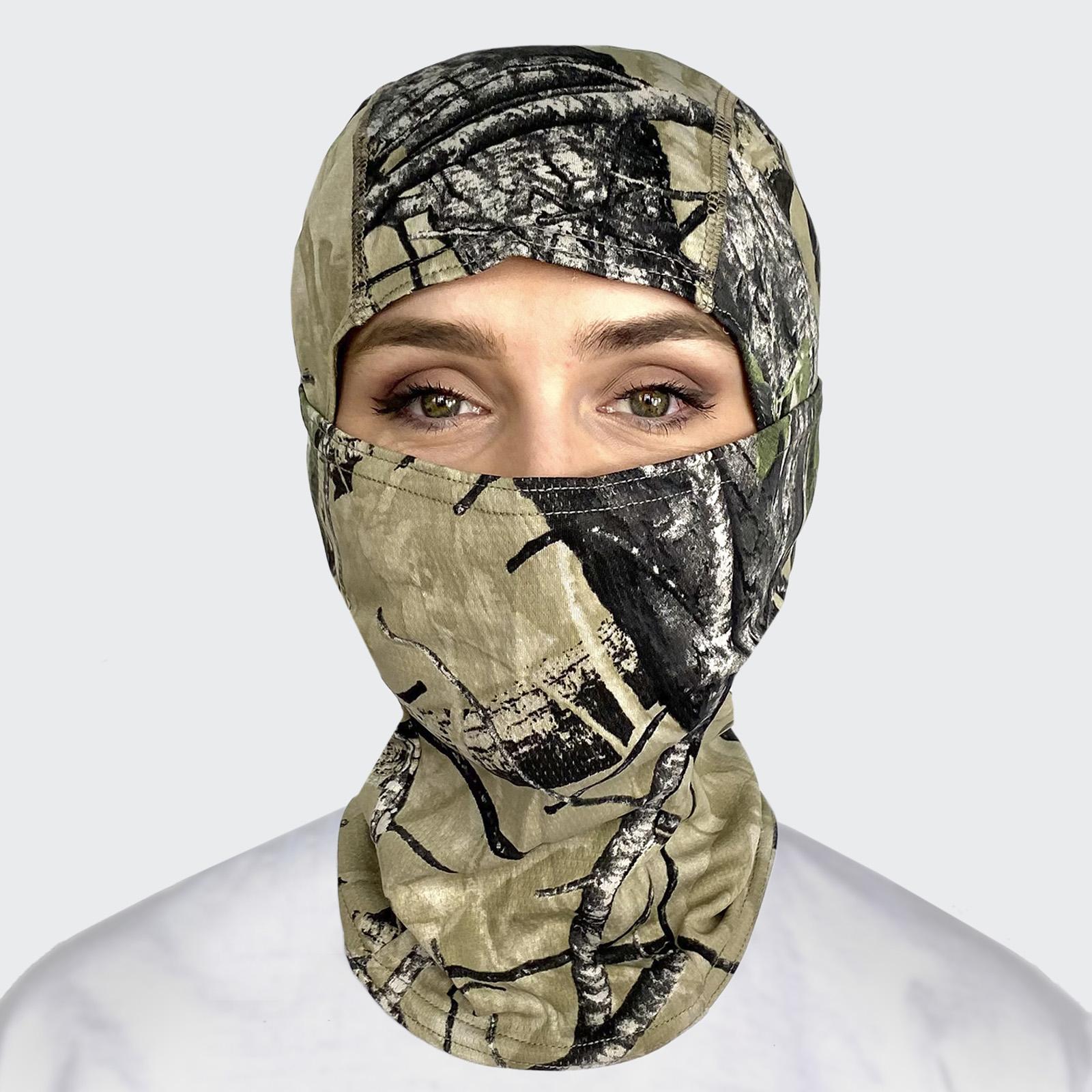 Универсальная маска для лица Realtree Hardwoods Green HD