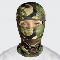 Оберегающая лицо маска-шлем Woodland