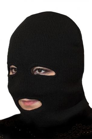 Вязаная маска  ОМОНа