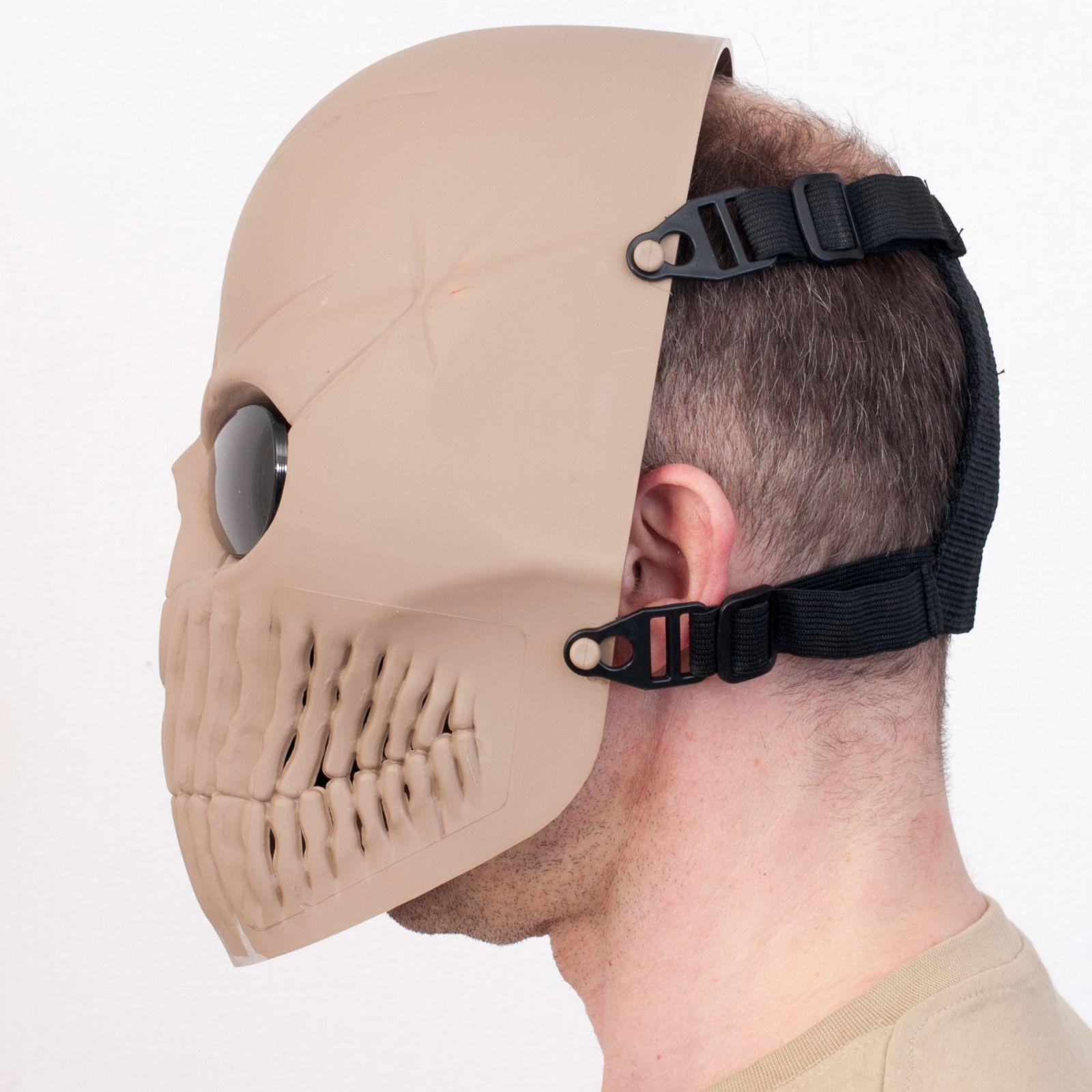 Заказать маску в виде черепа