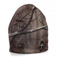 Маскировочная шапка охотника из камуфляжа Realtree