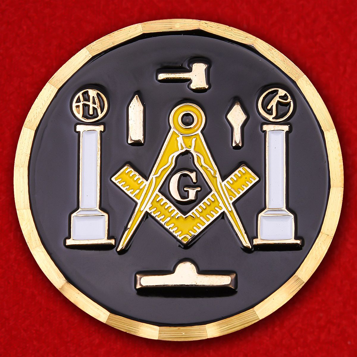 Masonic brotherhood Challenge Coin