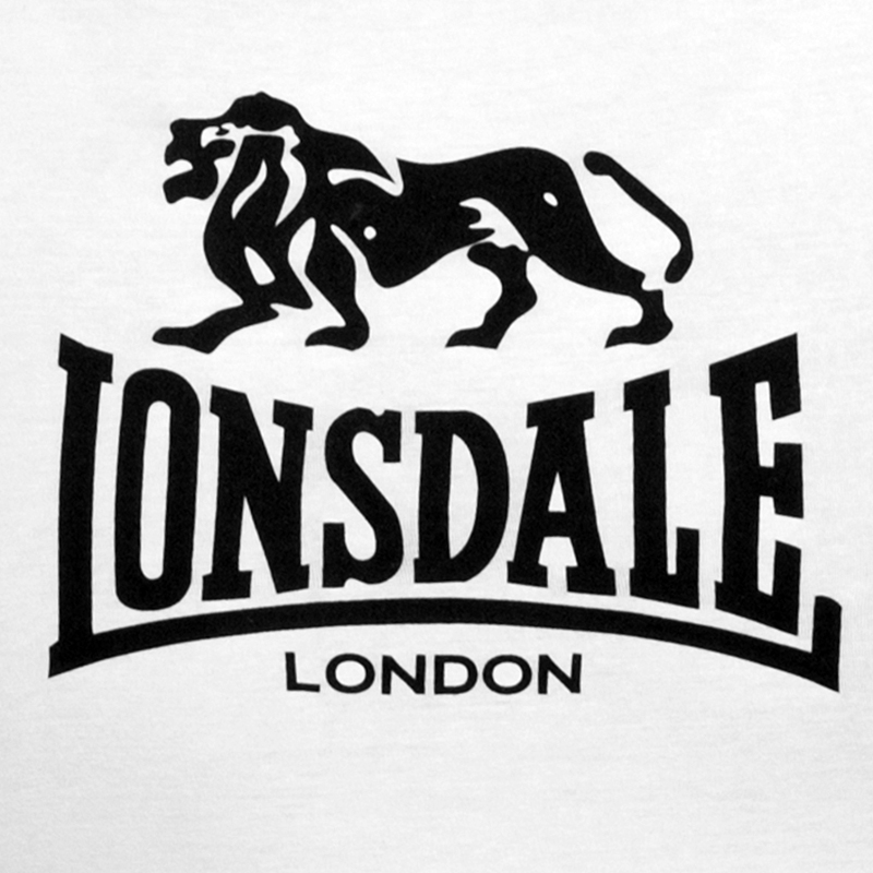 Майка «Lonsdale» белая