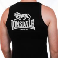 Майка «Lonsdale» чёрная