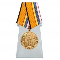 Медаль 100 лет Московскому ВОКУ на подставке
