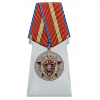 Медаль 100 лет МУРу на подставке
