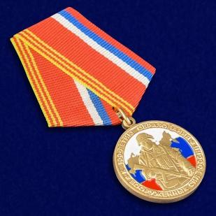 """Медаль """"100 лет образования Вооруженных сил России"""" - общий вид"""