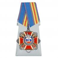 Медаль 100 лет Полиции на подставке