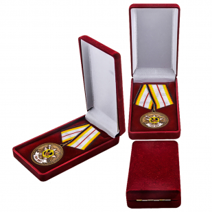 Медаль 100 лет РХБЗ к празднику
