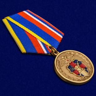 Медаль 100 лет Службе тыла МВД России - общий вид