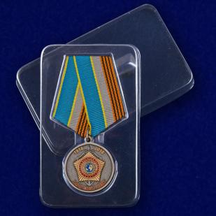 """Медаль """"100 лет Службе внешней разведки России"""" с доставкой"""