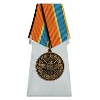 Медаль 100 лет Военно-воздушных силам на подставке