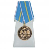 Медаль 100 лет Военной авиации России 1912-2012 на подставке