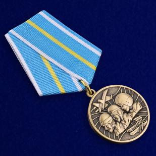 """Медаль """"100 лет Военной авиации России"""" 1912-2012 - общий вид"""
