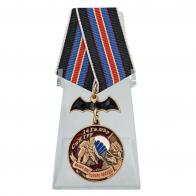 Медаль 14 Гв. ОБрСпН ГРУ на подставке