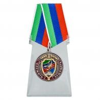 Медаль 20 лет ОМОН Скорпион на подставке
