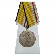 Медаль 200 лет Министерству обороны на подставке