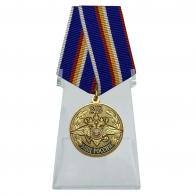 Медаль 215 лет МВД России на подставке