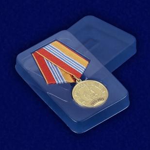 Медаль 25 лет МЧС в футляре
